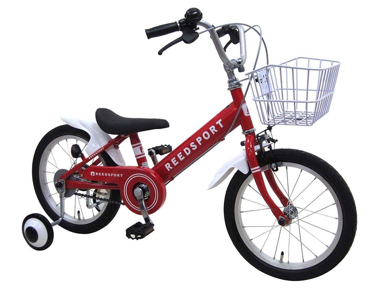 【組立済み】 リーズポート(REEDSPORT) 補助輪付き 子供用自転車 幼児自転車 B01M7X5ZJ0 16インチ|レッド レッド 16インチ