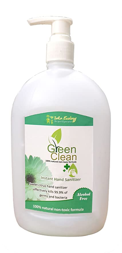 Buy Green Clean Organic Hand Sanitizer Spray Kills 99 9 Of