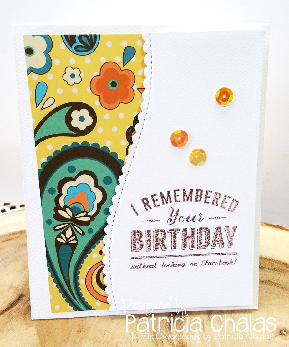 Amazon handmade birthday card hand stamped i remembered your amazon handmade birthday card hand stamped i remembered your birthday card embellishment with yellow sequins white envelope included 45 x 55 inches kristyandbryce Gallery