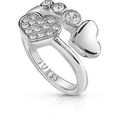 028593b81db0 Guess Women s Jewellery Ring Me   You Size 14 Trendy Cod. ubr84052 - 54   Amazon.co.uk  Jewellery