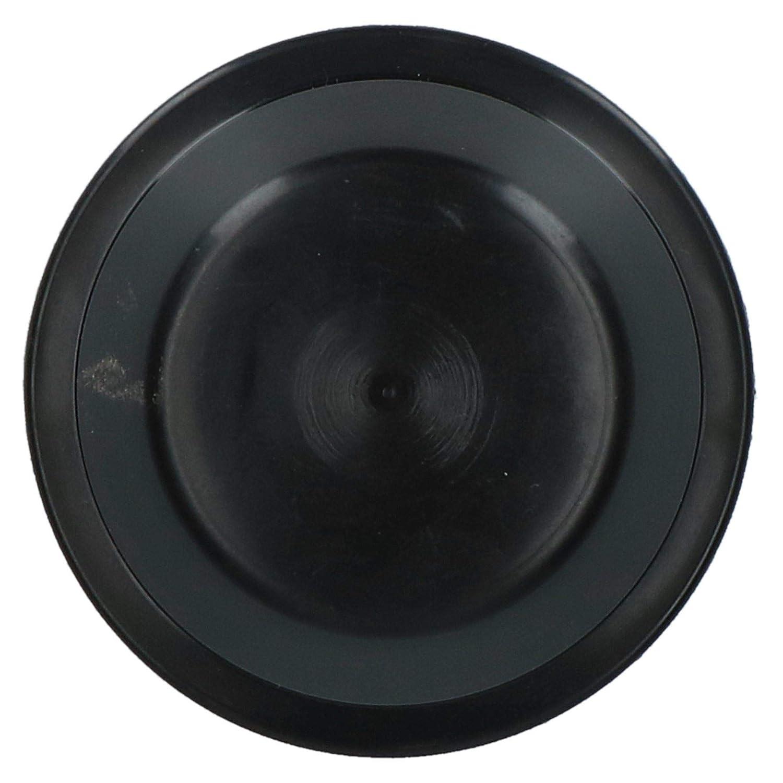 Replacement 50mm Plastic Wheel Hub Cap Trailer Bearing Dust Cover 4 Pack
