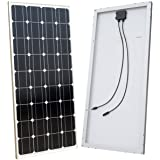 ECO-WORTHY 100 Watts 12 Volts Monocrystalline Solar Panel