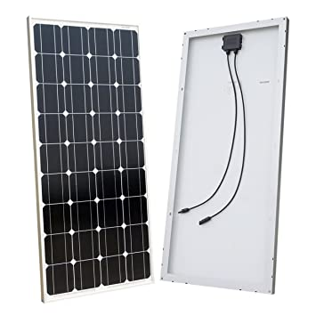 amazon com eco worthy 100 watts 12 volts monocrystalline solar rh amazon com Solar Panel to Battery Wiring Diagram Solar Wiring Diagrams for Homes