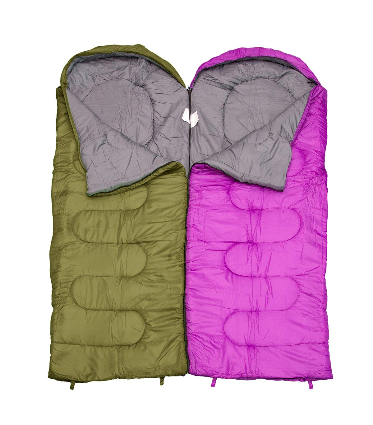 REVALCAMP Sleeping Bag for Cold Weather - 4 Season Envelope Shape Bags by Great for Kids, Teens & Adults. Warm and Lightweight - Perfect for Hiking, Backpacking & Camping 8