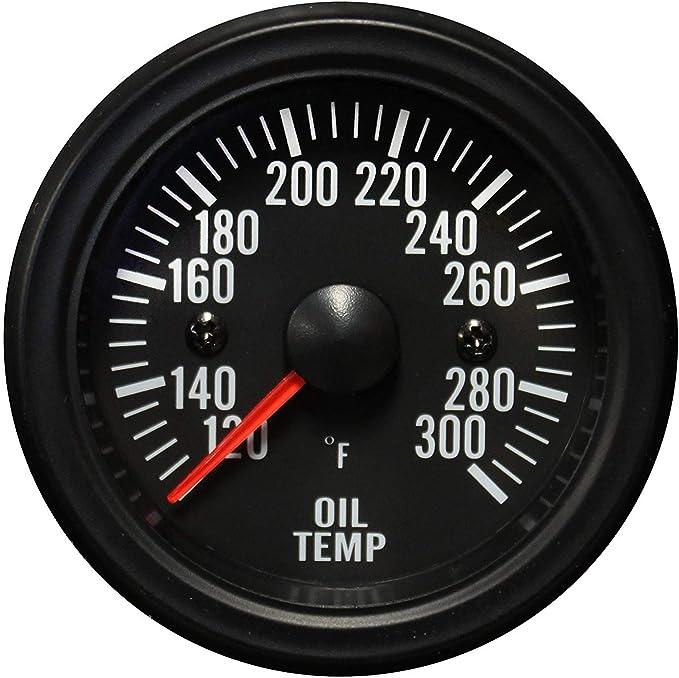 Pullkalia 2 inch 52mm LED Light Car Pointer Oil Temperature Temp Gauge 50-150 Car Oil Gauge Car Accessories