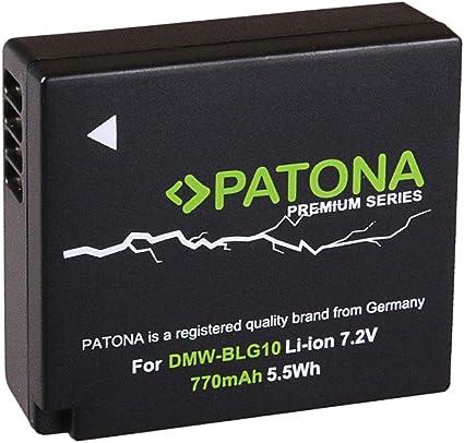Patona Premium Rechargeable Battery For Panasonic Dmw E Camera Photo