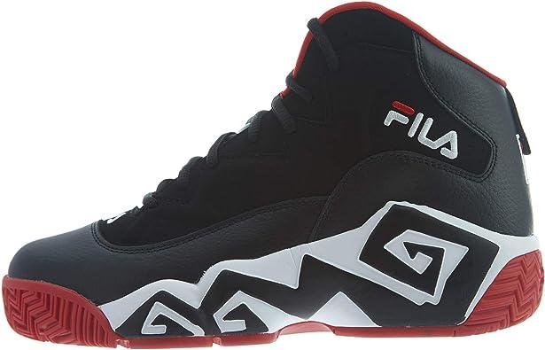 Fila - Zapatillas de baloncesto para hombre de piel MB retro