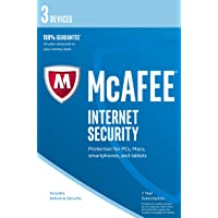 McAfee Internet Security   3 Devices   1 Year   PC/Mac/Android   Download - Latest Version