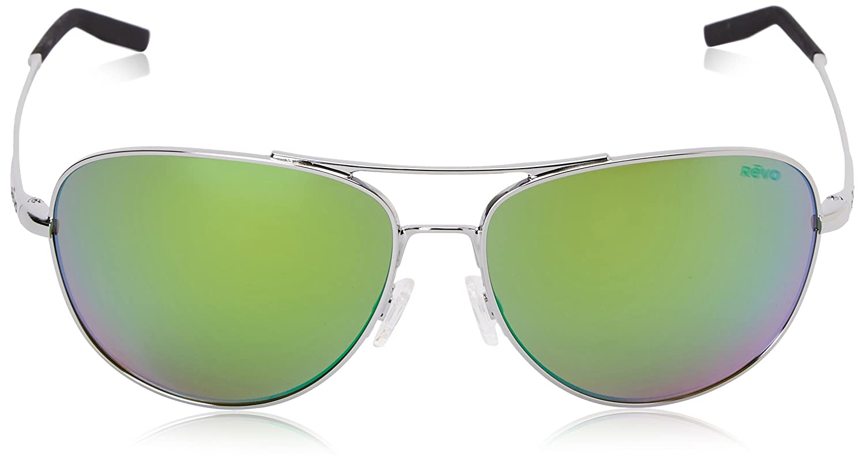 2a5e01d977 Amazon.com  Revo Windspeed RE 3087 Polarized Aviator Sunglasses ...