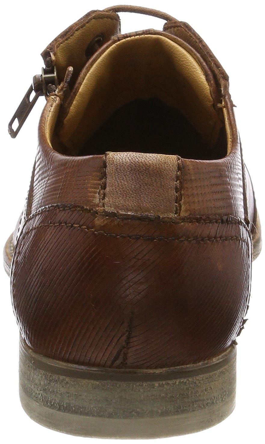 Bugatti Herren 312110052100 (Cognac) Derbys Braun (Cognac) 312110052100 b1e073