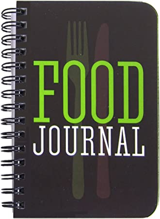BookFactory Food Journal/Extra Small Food Diary Logbook/Diet Journal Notebook/Book, 120 Pages - 3 1/2 x 5 1/4