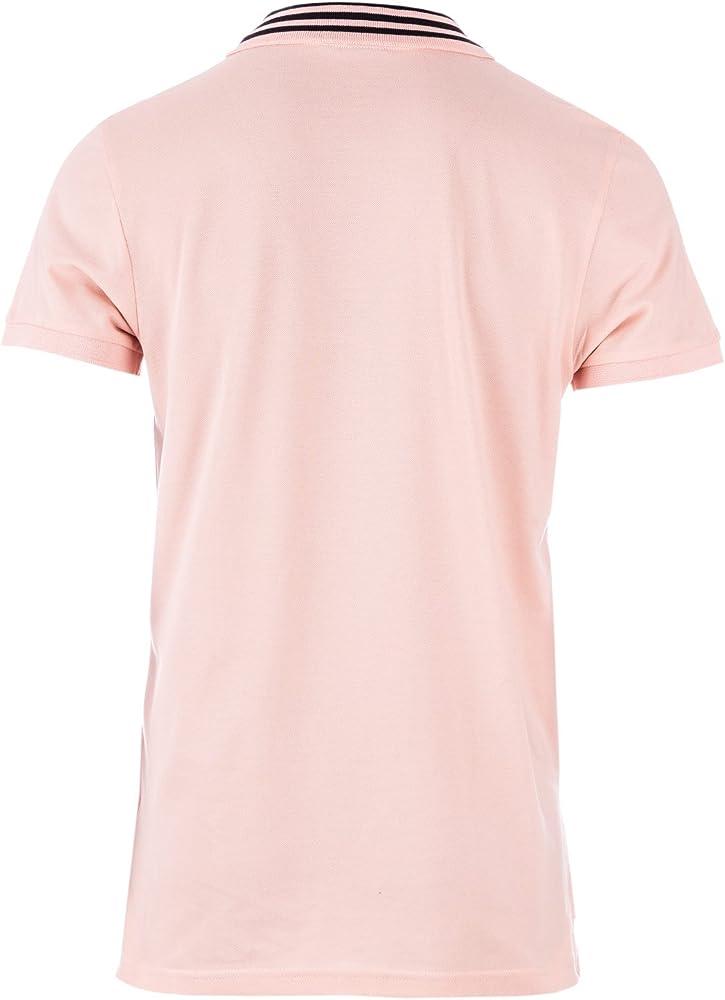 adidas Originals - Polo - para Hombre Rosa Rosa: Amazon.es: Ropa y ...
