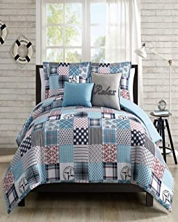 The Lakeside Collection 3-Pc Harvest Quilt Set