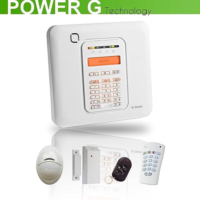 Kit Alarma Visonic PowerMaster 10 PG2 - 2: Amazon.es ...