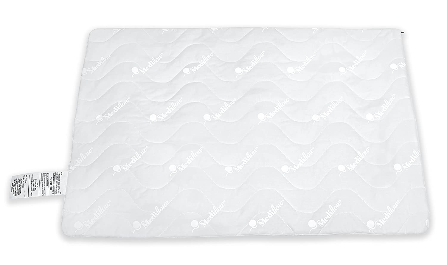 Mediflow Quilted Pillow Protector 20x28-Inch, Standard/Queen 2690-06