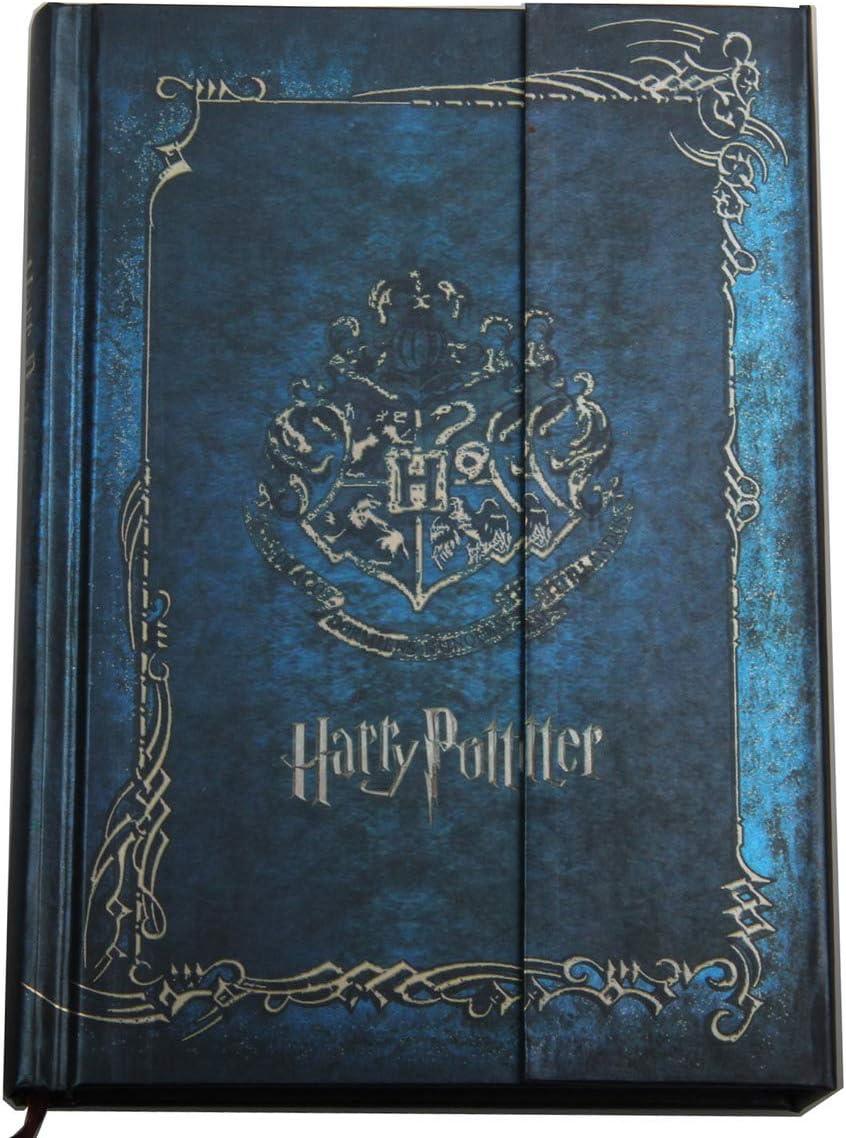 Harry Potter - Agenda de tapa dura con calendario 2019-2020-2021, el mejor regalo de Navidad para los fans de Harry Potter