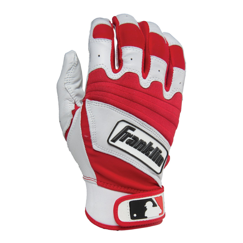 Franklinスポーツの自然IIバッティンググローブ B00G2GFIZ8 3L|Pearl/Red Pearl/Red 3L