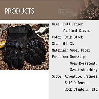 Tmdfight Gants Full Tactical Haute Élasticité Multicolore Multifonction Protection Complète Survie en Extérieur Randonnée Aventure Escalade,2,L