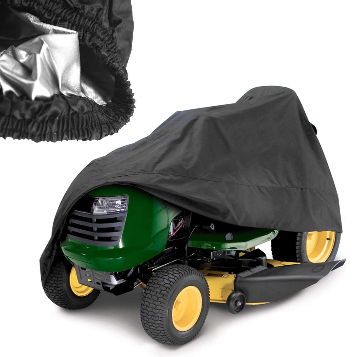Waterproof Scooter Storage Cover, 190T Nylon Cloth Power Mobility Scooter Big Car Cover with Carry Bag (US Stock)
