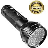 KOBRA Products 51 LEDs UV Handheld Flashlight - Black