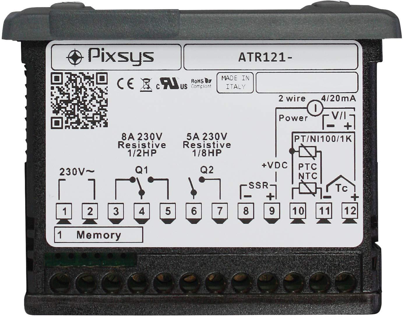 R/égulateur PID 32 x 74 mm Versorg. 12.24 VAC//DC ATR121-AD