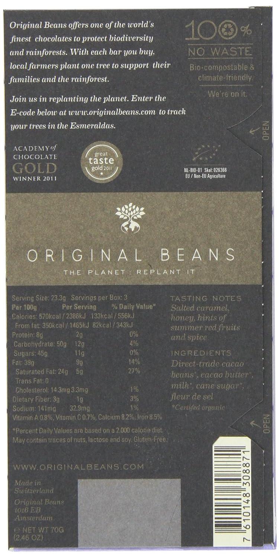 Amazon.com : Original Beans Esmeraldas Milk Chocolate Bar ...