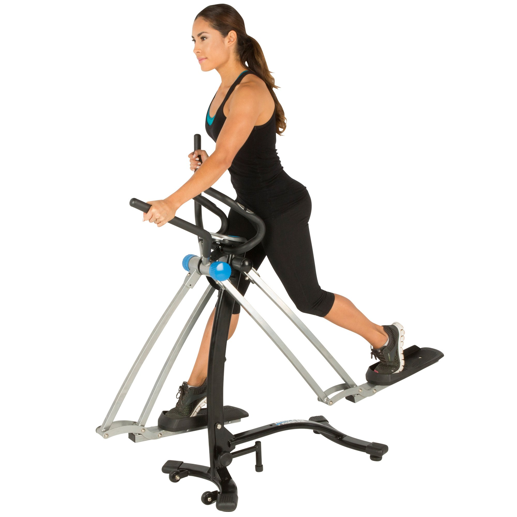 PROGEAR Dual Action 360 Multi Direction 36'' Stride Air Walker LS with Heart Pulse Sensors