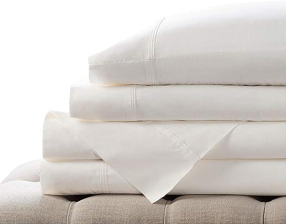 Elizabeth Arden - Juego de sábanas de percal de algodón 100% de ...