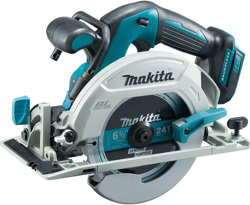 Makita XSH03Z 18V LXT Lithium-Ion Brushless Cordless 6-1 2 Circular Saw, Tool Only