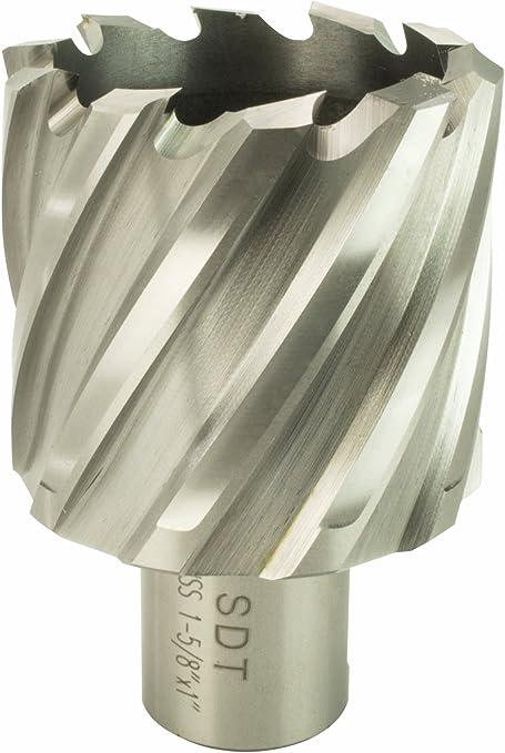 "Steel Dragon Tools® 1-5//8/"" x 2/"" HSS Annular Cutter with 3//4/"" Weldon Shank"