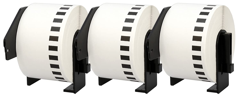 10x DK-11201 29 x 90 mm Adressetiketten (400 Stück Rolle) kompatibel für Brother P-Touch QL-1050 QL-1060N QL-1110NWB QL-1100 QL-500 QL-500BW QL-570 QL-580 QL-700 QL-710W QL-800 QL-810W QL-820NWB B074S1WLKV | Klein und fein