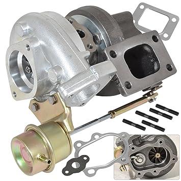 Universal T25/T28 aceite/agua enfriado TURBO de batería de híbrida con interior actuador wastegate: Amazon.es: Coche y moto