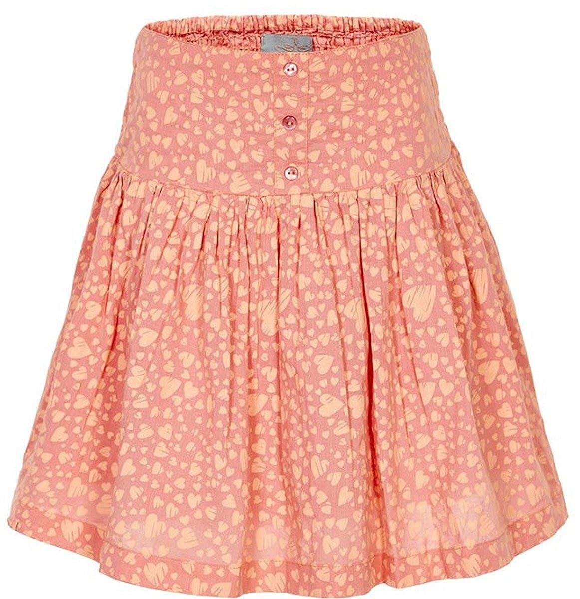 Creamie - Falda - rock - para niña Naranja albaricoque 116: Amazon ...