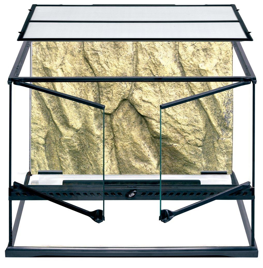 Exo Terra Glass Natural Terrarium, Medium Wide, 60 x 45 x 45 cm