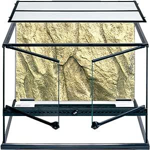 Exo Terra Glass Terrarium Tank - 24 x 18 x 18 Inches