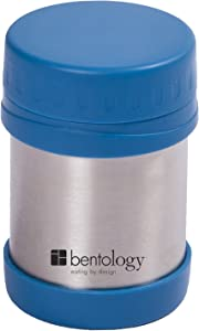 Laptop Lunches Bento-ware 11oz Insulated Stainless Steel Lunch and Food Jar, Teal - Holds Temp for up to 6 Hours