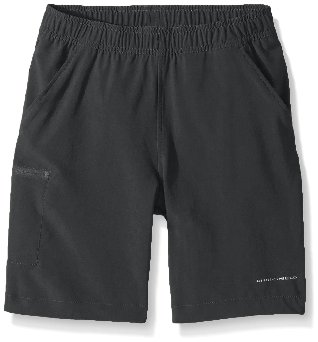Columbia Boys Hike Along Shorts, Shark, X-Large by Columbia