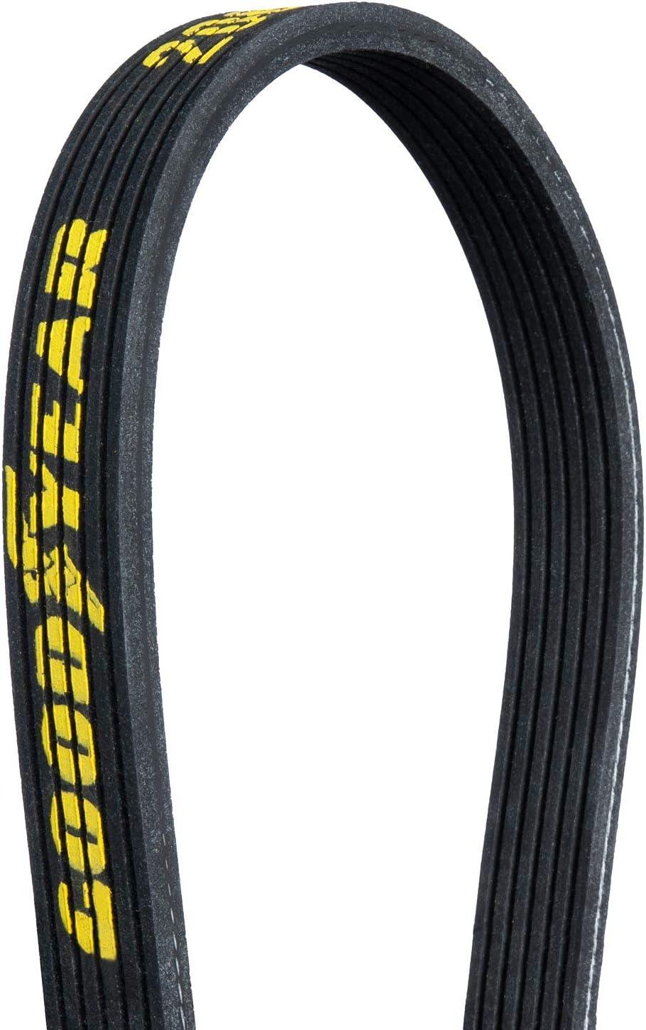 85.9 Length Goodyear 2060859 Dual Sided Serpentine Belt 6-Rib