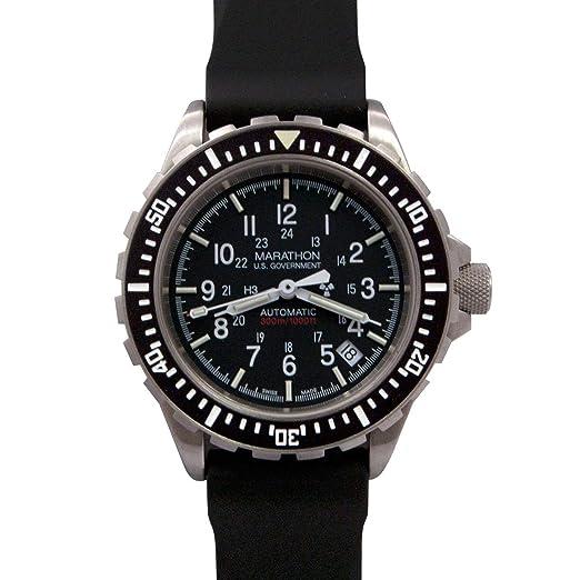Marathon Watch Reloj de Pulsera automático para Buzos: MARATHON: Amazon.es: Relojes