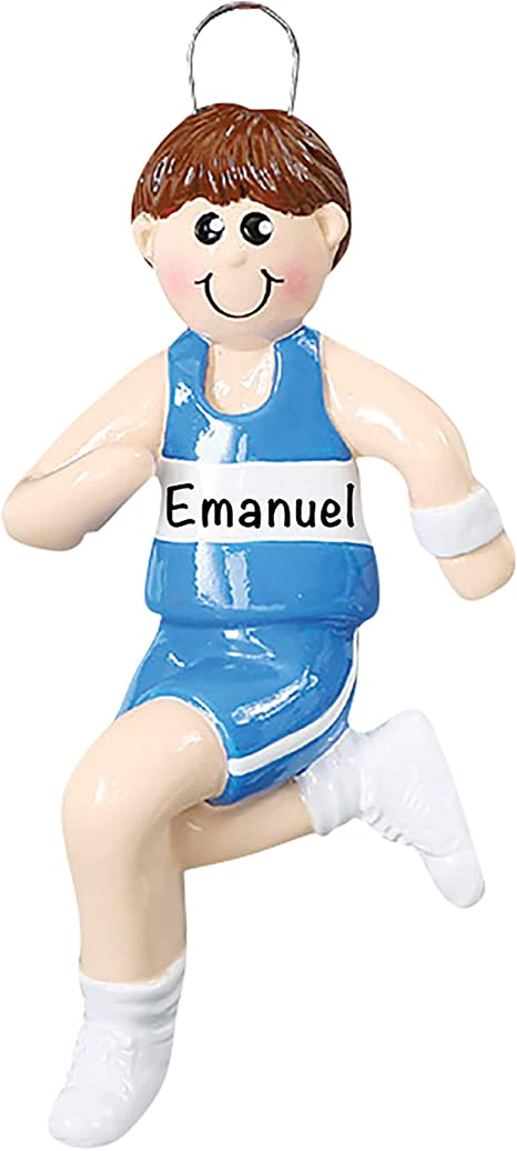 2021 Christmas Ornaments Guys Amazon Com Personalized Christmas Ornaments Guy Track Runner Decor Charming 2021 Ornament Holiday Decorations Customized Gifts For Sports Fans Polyresin Track Ornaments Decorations For Christmas Tree Kitchen Dining