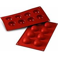 SILIKOMART 1 STMPO SILICONE 8 SEMISFERE Dimensione: Ø 50 h 25 mm