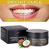 Polvo blanqueador de dientes,Blanqueador Dental de Carbón Activado,Blanqueamiento de dientes,Teeth Whitening Powder,- eficaz contra la respiración, la cavidad, la mancha, la placa, la gingivitis, el polvo suave para los dientes sensibles, refresca la respiración y mejora la salud oral. Ninguna necesidad de las tiras, de los kits o del gel