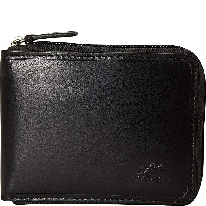 Amazon.com: Mancini Leather Goods RFID Secure - Cartera con ...