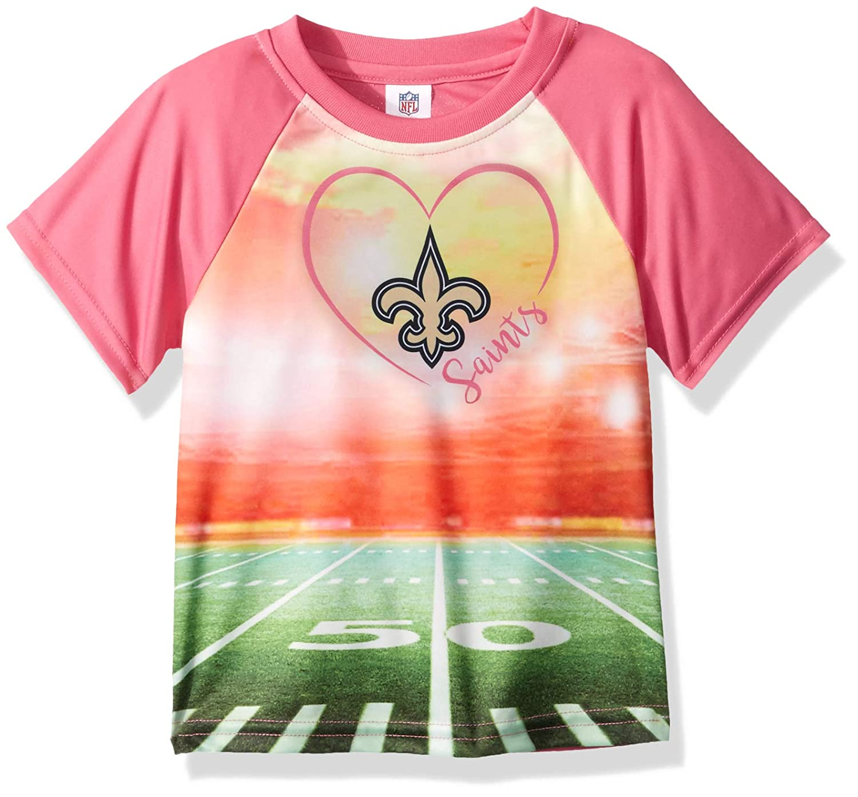 NFL Girls Toddler Short Sleeve Team Stadium Tee