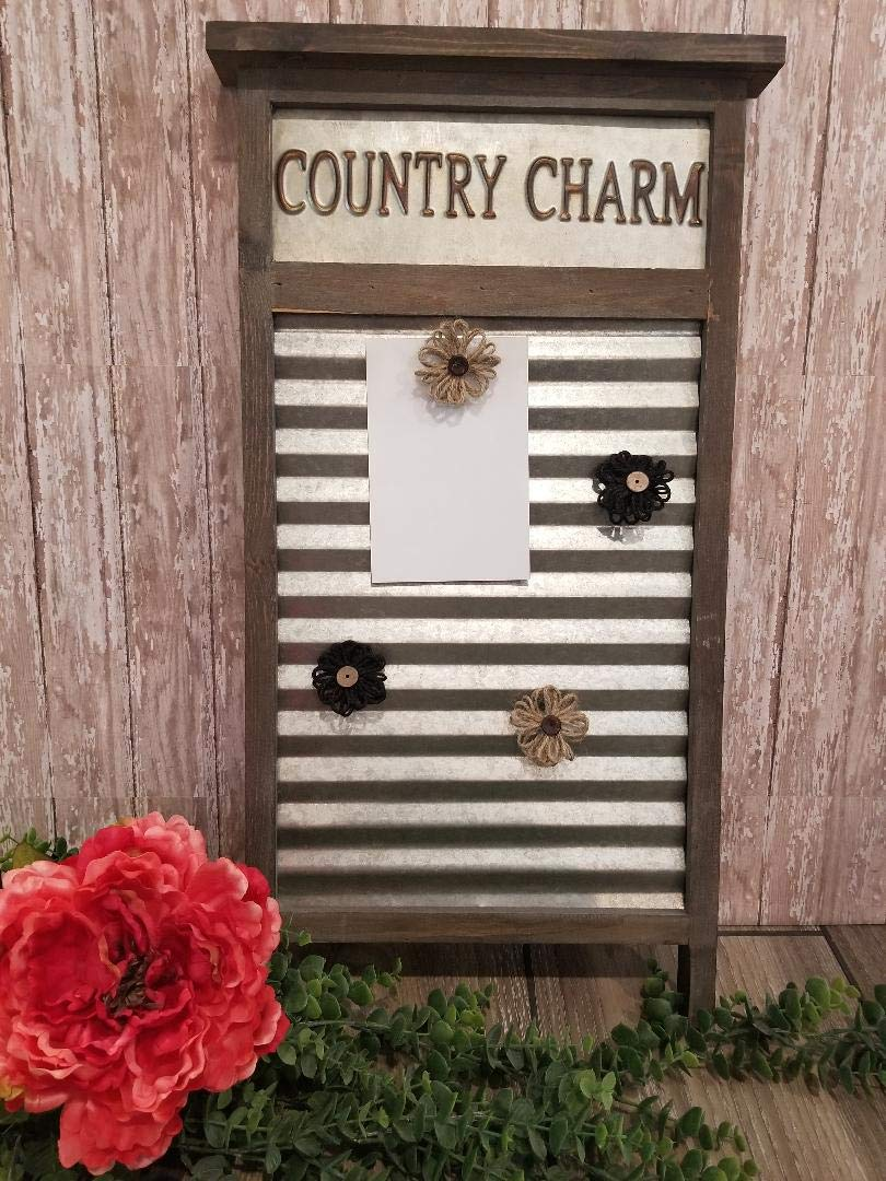 Sassy Silk Arrangements and More Rustic/Urban Farmhouse Memo/Picture Board by Sassy Silk Arrangements and More