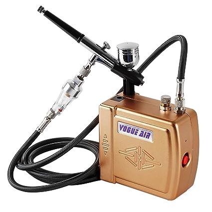 YITOO Sistema Completo De Mini Aerografo Compresor Para Tatuaje Arte Uñas Arte Maquillaje Arte Pastel Spray