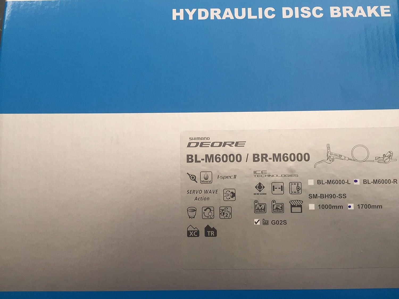 SHIMANO Deore BR-BL-M615 M615 Frein Hydraulique Set Avant et Arri/ère Noir