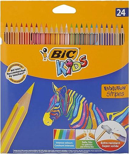 BIC Color Up l/ápices de colores surtidos bl/íster de 24 unidades