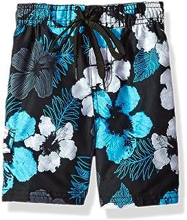 57b151e7ec4a4 Kanu Surf Boys' Hangout Floral Quick Dry Beach Board Shorts Swim Trunk