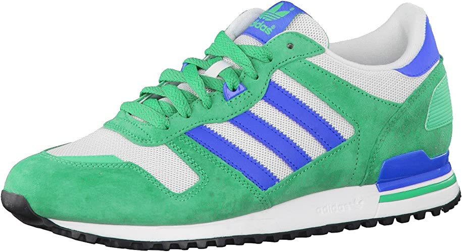 50% rebajado gran calidad estilo único adidas Originals ZX 700 Mens White / Green Trainers: Amazon.co.uk ...